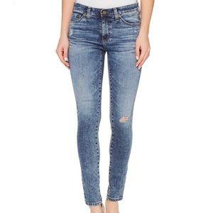 AG Middi Ankle Skinny Jeans AG-Ed Distressed 30 10